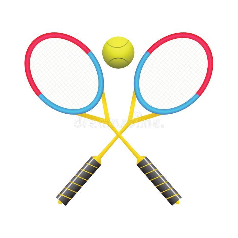 Download Tennisrackets vector illustratie. Illustratie bestaande uit apparatuur - 39107134