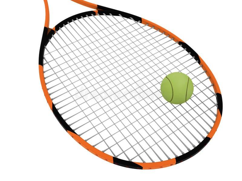 Tennisschläger vektor abbildung