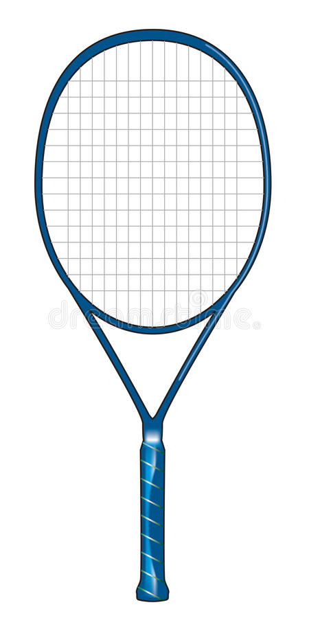 Tennisschläger stockfoto