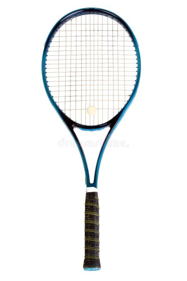 Tennisschläger lizenzfreie stockbilder