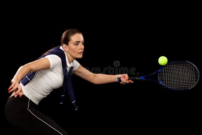 Tennisspelare royaltyfri bild