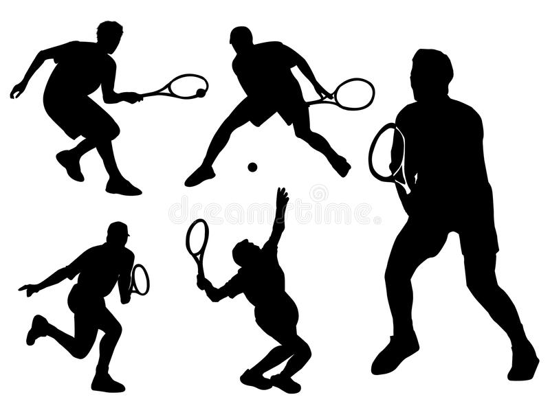 Tennissport stock abbildung
