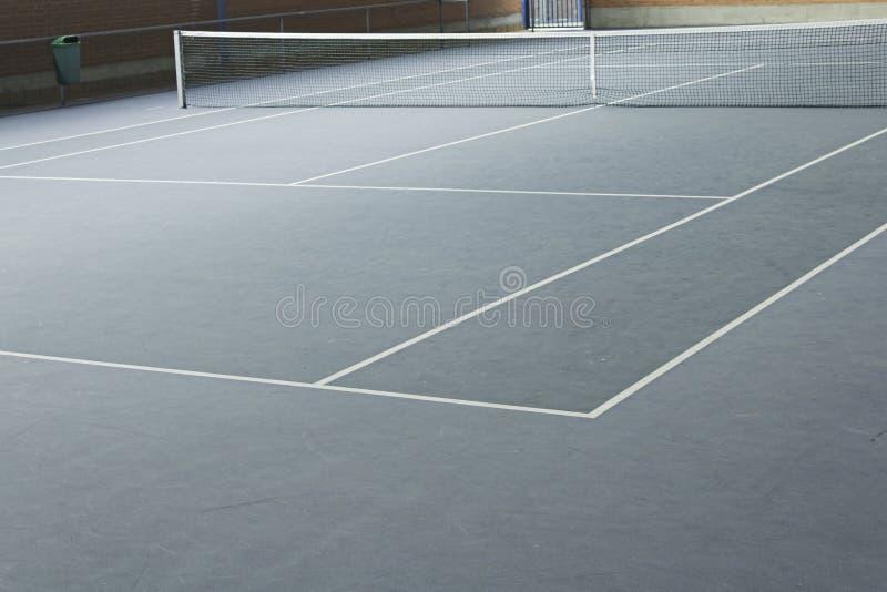 Tennissportmitt arkivbild