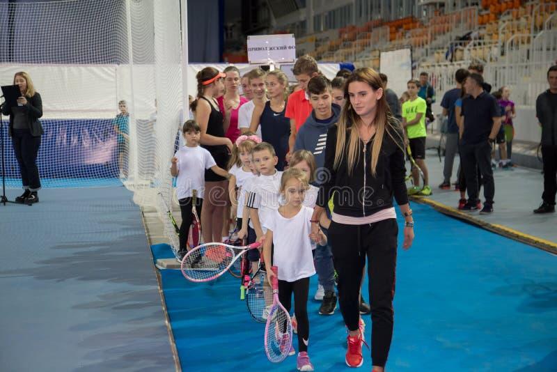 Download Tennistoernooien Voor Prijzen Van Elena Vesnina Redactionele Afbeelding - Afbeelding bestaande uit vervoering, competition: 107704725