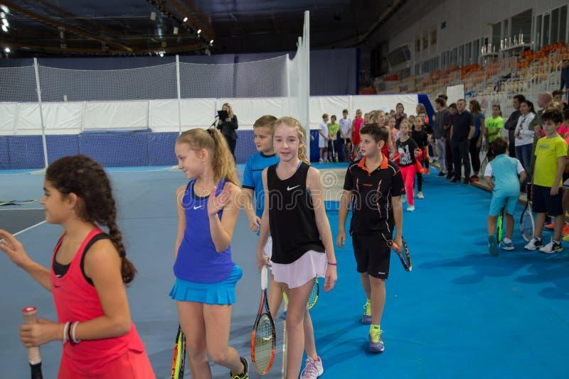 Download Tennistoernooien Voor Prijzen Van Elena Vesnina Redactionele Stock Foto - Afbeelding bestaande uit kampioen, adler: 107704908