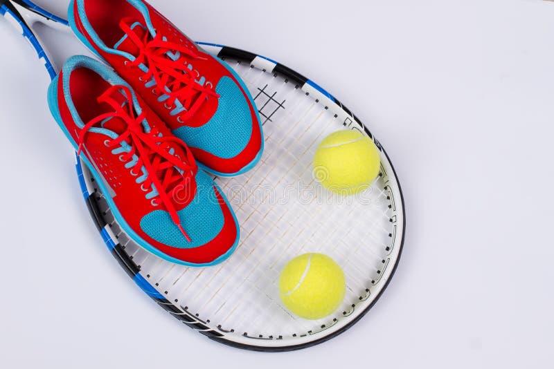 Tennisuppsättning fotografering för bildbyråer
