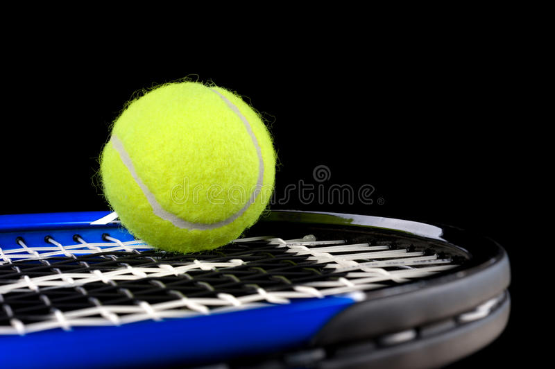 Tennisutrustning arkivfoto