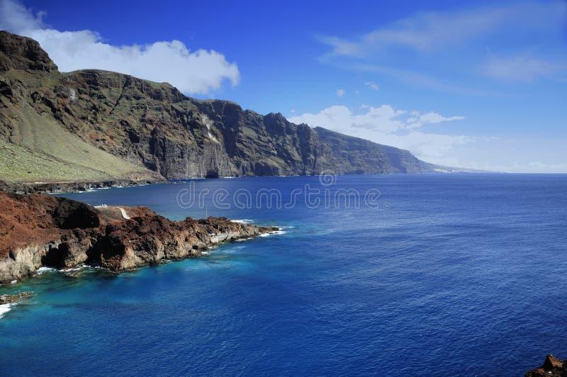 Teno in Tenerife stock afbeelding