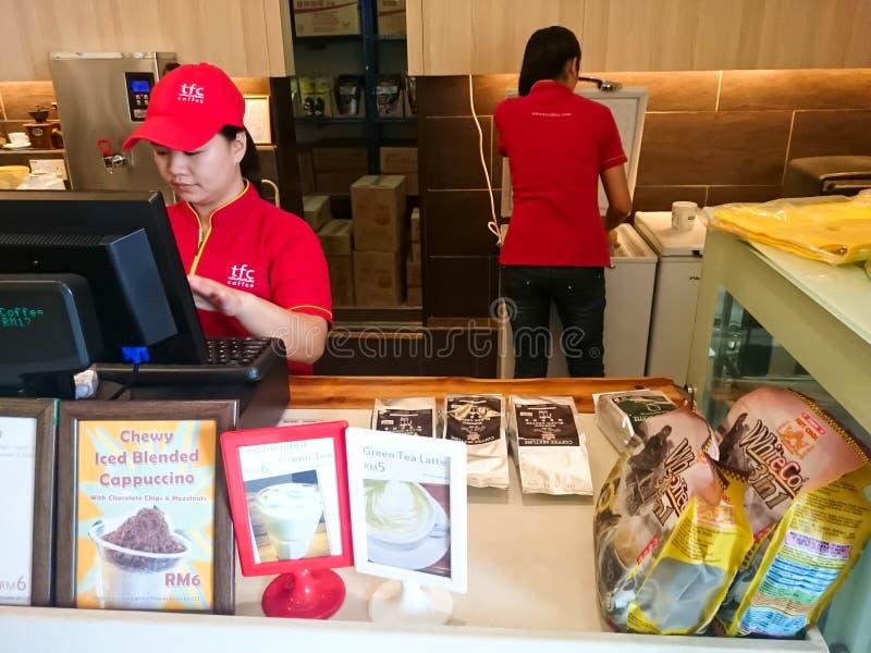 Tenom Fatt Choi Coffee Factory immagine stock