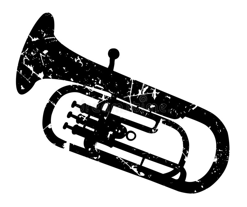 Tenorhorn stock de ilustración