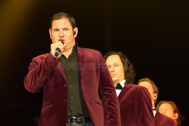 Tenors of I Quattro at Sixday-Nights Z�rich 2011