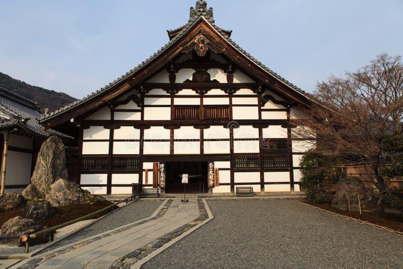 Tenryu-ji Zen Temple in Arashiyama. Kyoto, Japan - Tenryu-ji Zen Temple in Arashiyama. Buddhist zen temple of Rinzai school. UNESCO World Heritage Site stock images