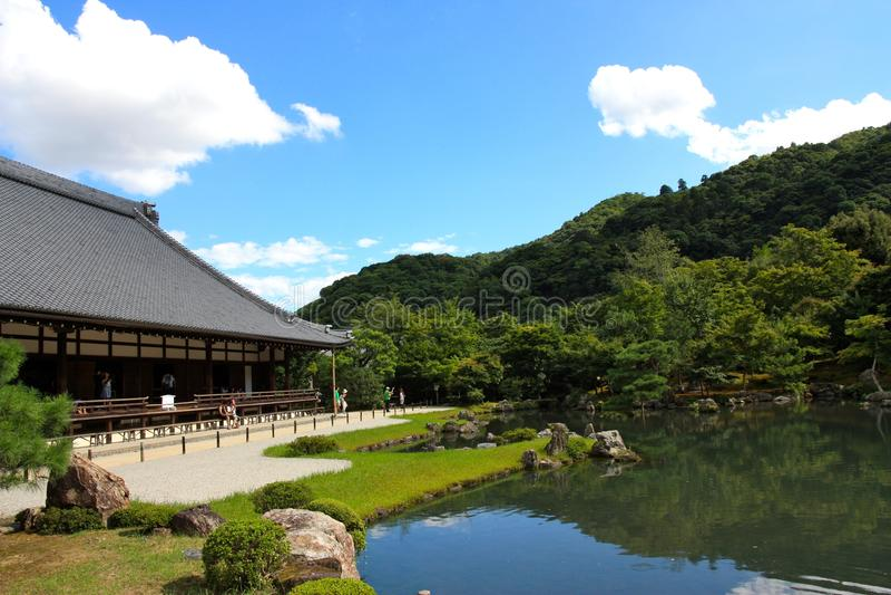 Tenryuji temple near Kyoto, Japan royalty free stock photos