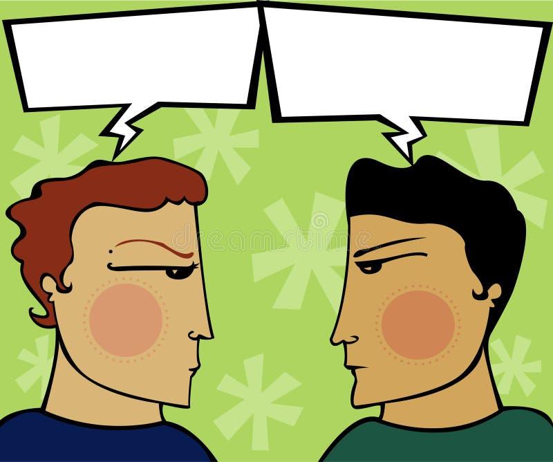 Tensão expressa ilustração royalty free