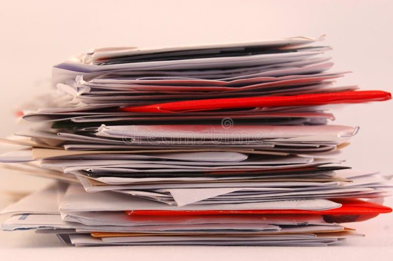 Tensión postal imagenes de archivo