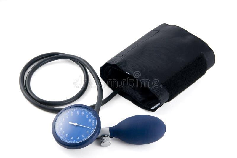 Tensiometer manual no fundo branco foto de stock royalty free