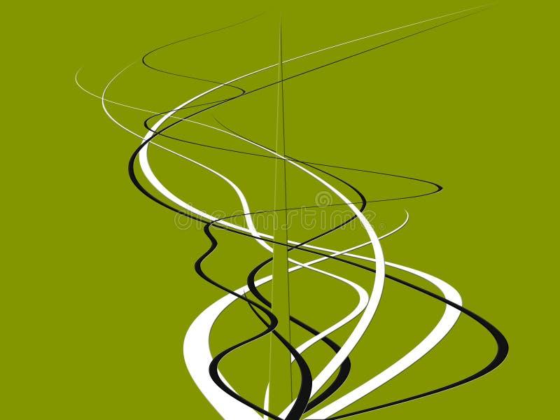 Tentáculos ilustración del vector