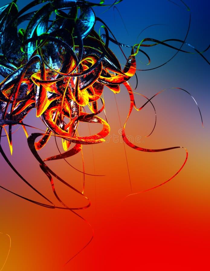 Tentáculos mortais ilustração do vetor