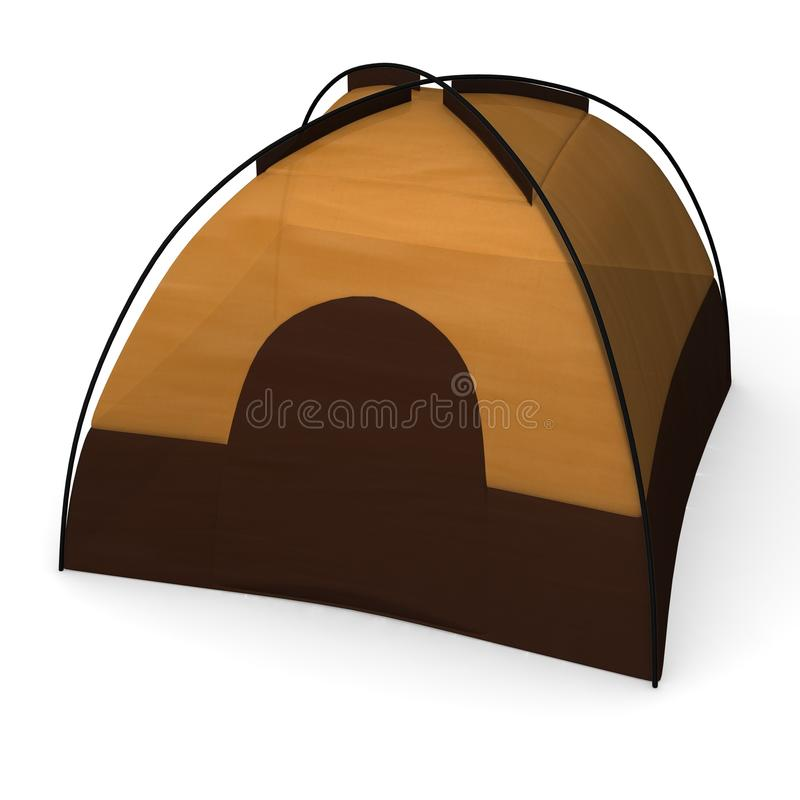 tent royaltyfri illustrationer