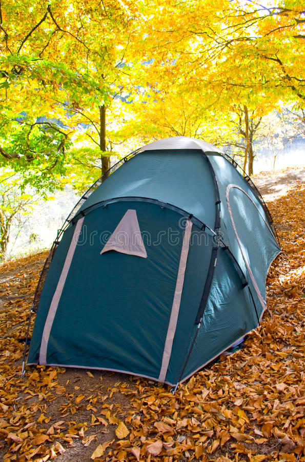 Tent. royalty free stock image