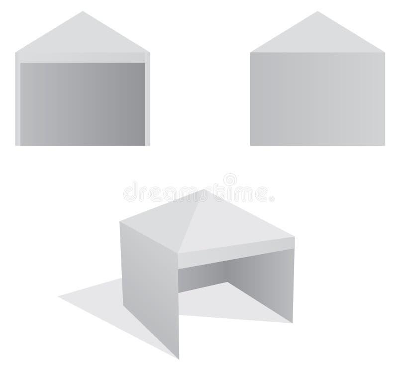 tent stock illustrationer