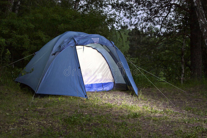 The tent royalty free stock image