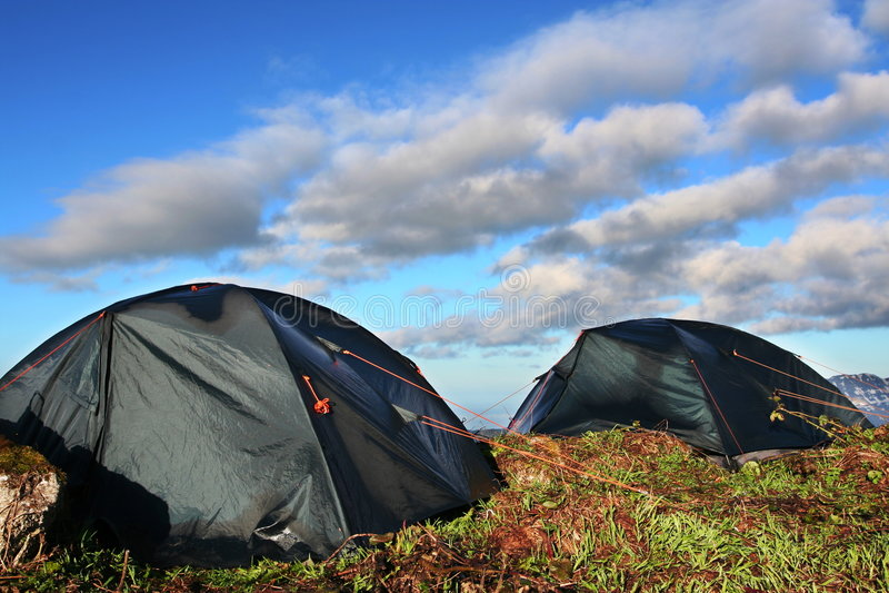Tent stock foto's