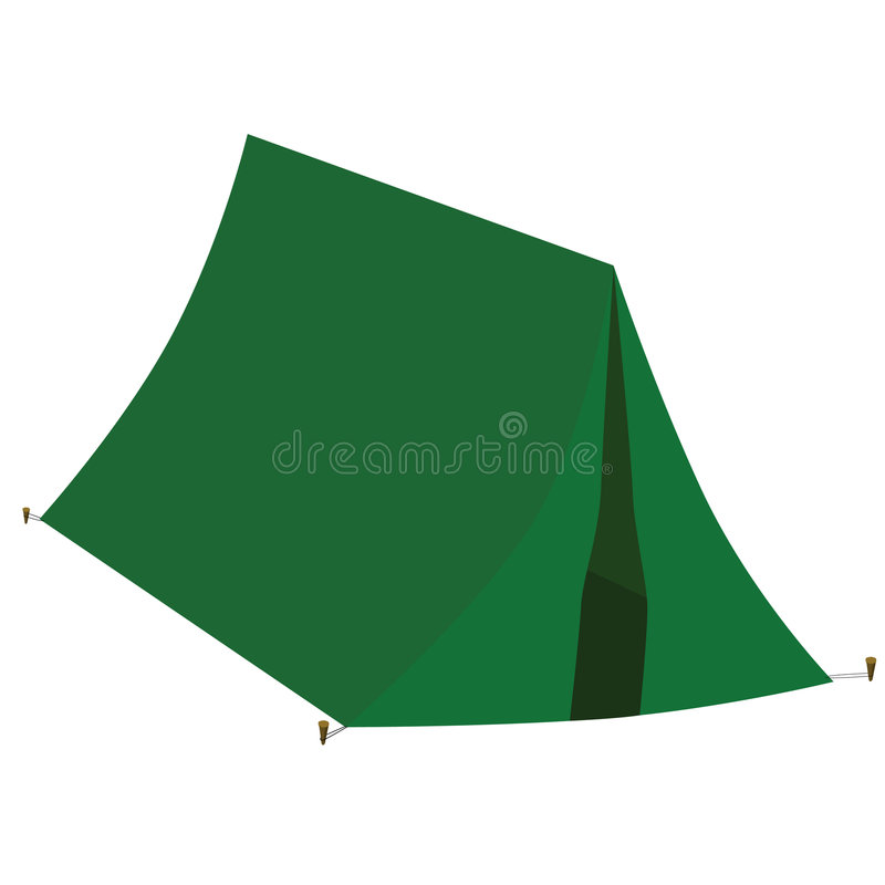 Tent vector illustratie
