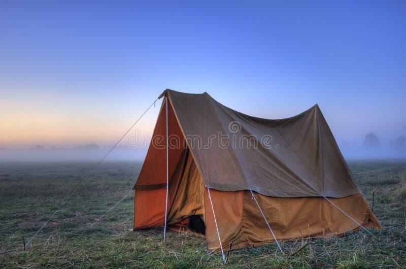 Tent stock afbeelding