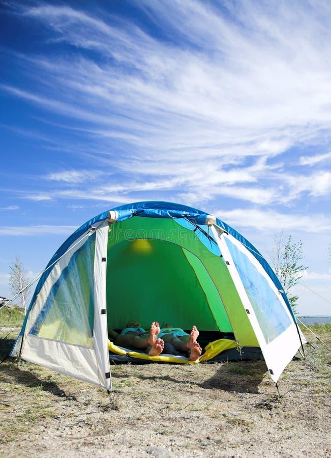tent royaltyfri bild