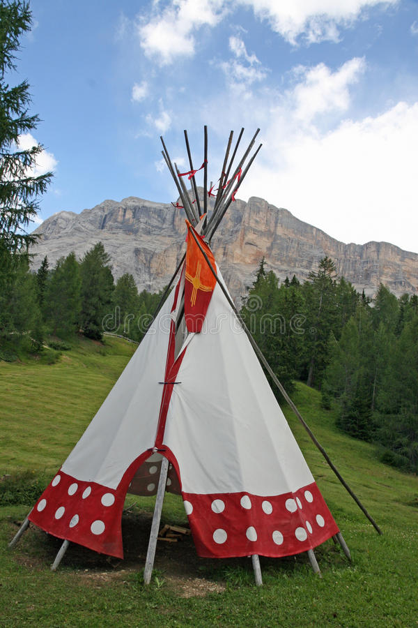 Download Tent Cone Shaped In An Indian Reserve Stock Photo - Image 26381362 & Tent Cone Shaped In An Indian Reserve Stock Photo - Image: 26381362
