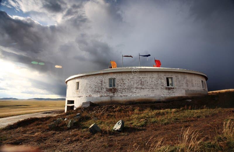 tent för nomad s arkivbilder