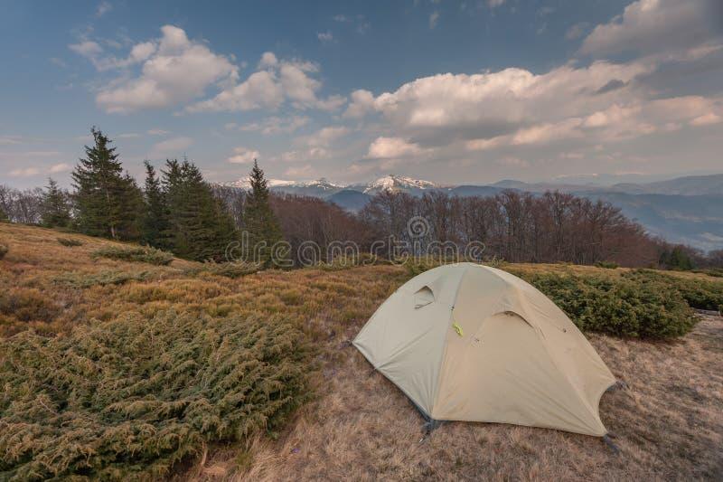 Download Tent stock image. Image of high, tourism, blue, landscape - 38936355