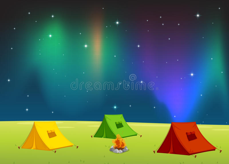 Tent House Royalty Free Stock Photo