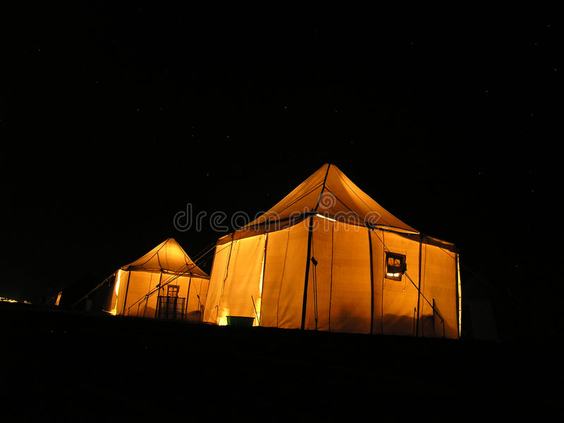 Download Tent Under Stars Stock Images - Image: 3531764