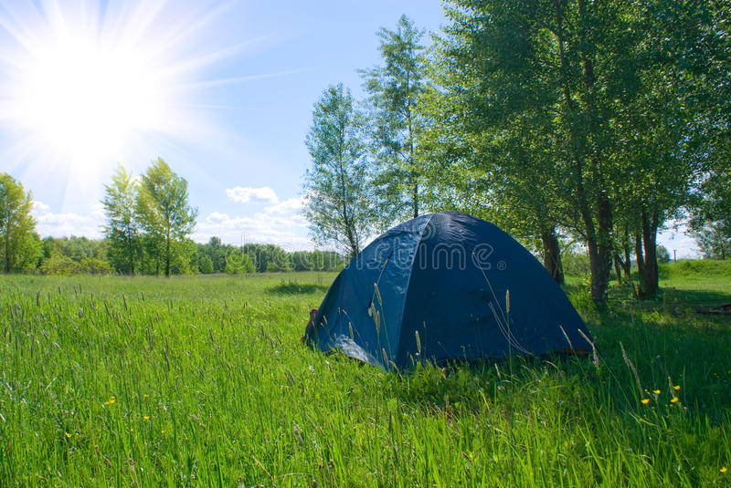 Download Tent Under A Tree Stock Images - Image: 11971644