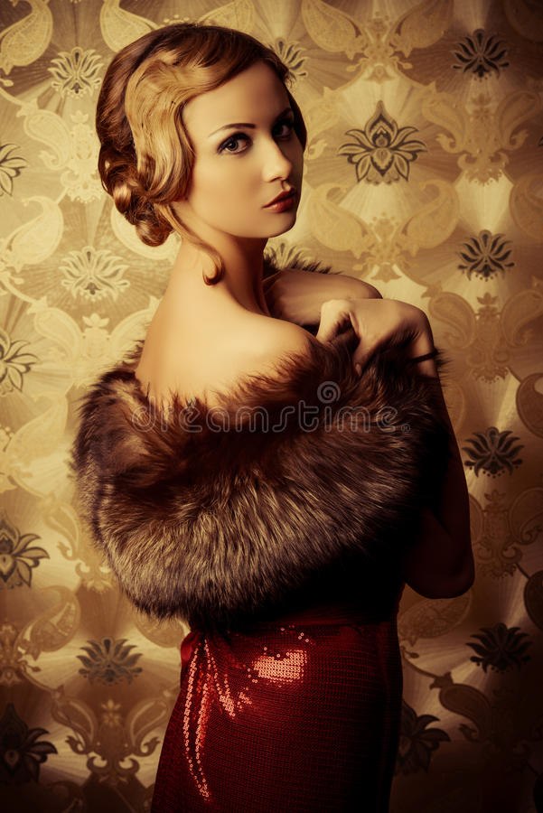 Tentação do vintage foto de stock royalty free