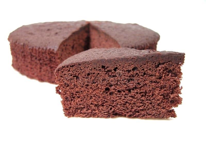Tentación de la torta de chocolate foto de archivo
