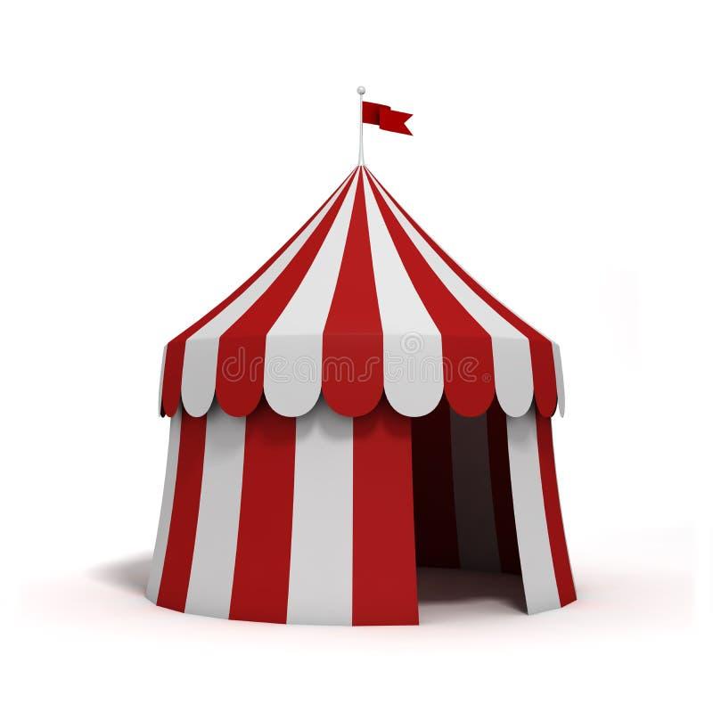 Tente de cirque illustration libre de droits