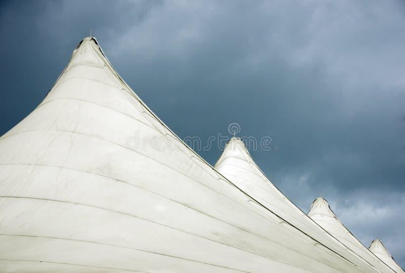 Tente de constructeur photographie stock libre de droits