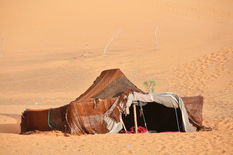 tente de nomade de berber photo stock