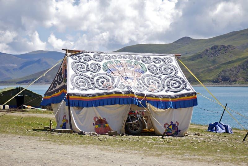 Tente tibétaine images libres de droits