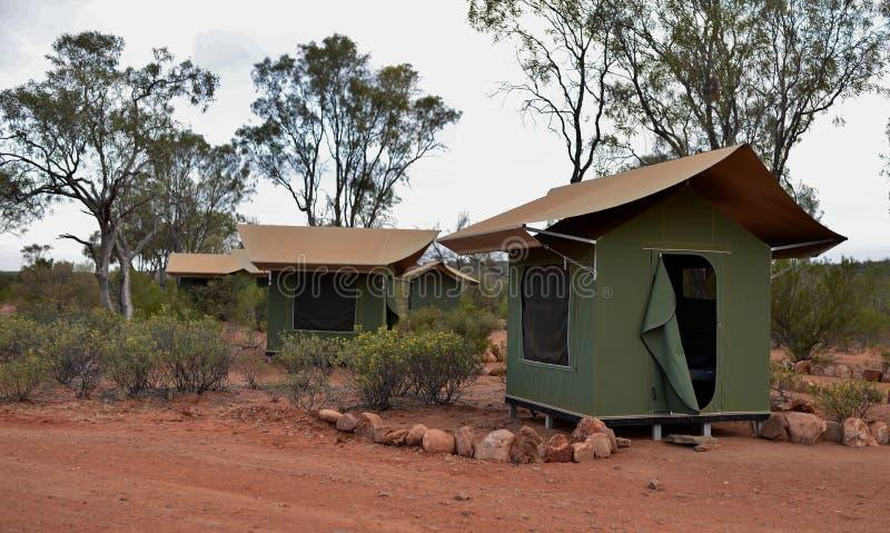 Download Tentes De Toile Dans L'Australie D'intérieur Photo stock - Image du camper, australie: 45371104