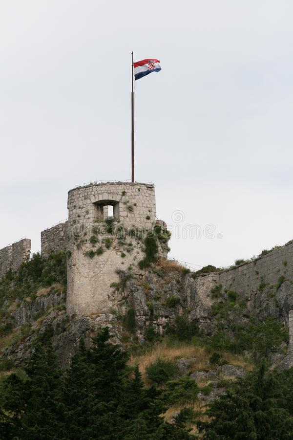 Download Tenth Century Tower stock photo. Image of croatia, fort - 14873382