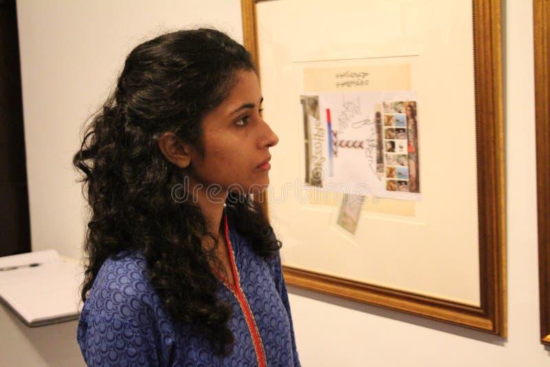 Tentoonstelling door Iqbal Geoffrey royalty-vrije stock afbeeldingen