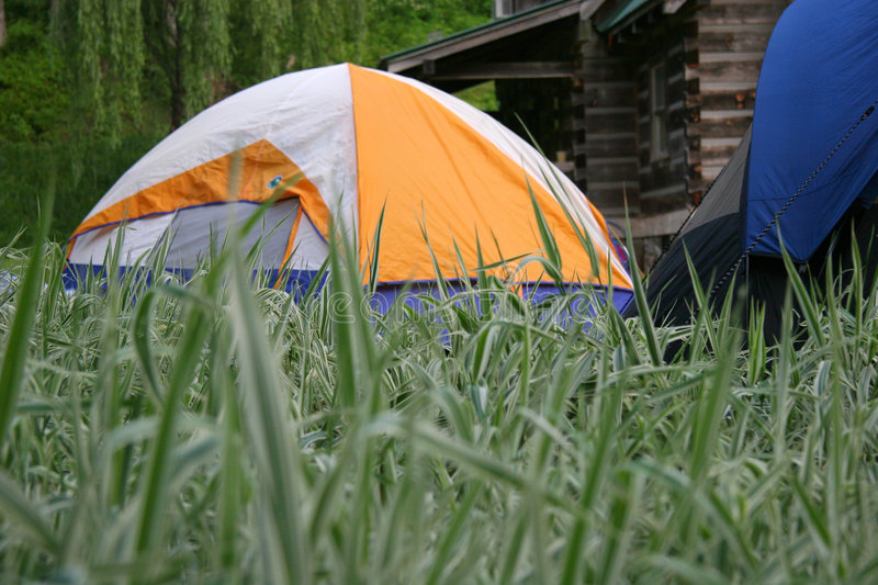 Tents royalty free stock image