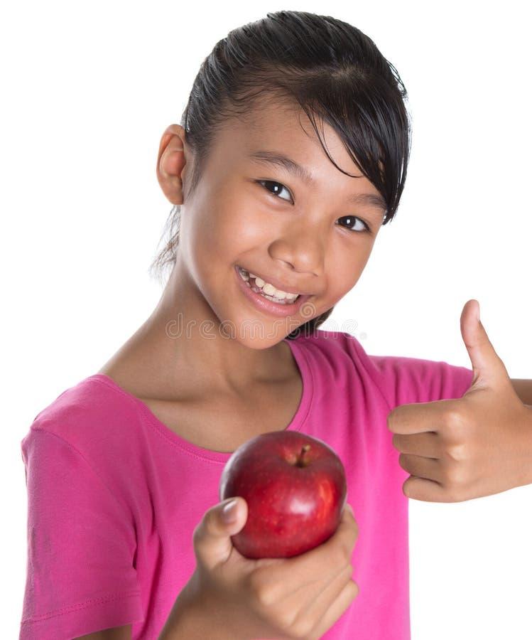 Tenuta dell'Apple rosso VI immagini stock
