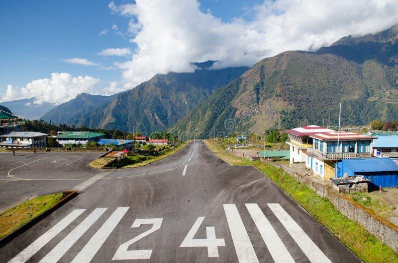 Tenzing–Hillary Airport Lukla Airport stock photos