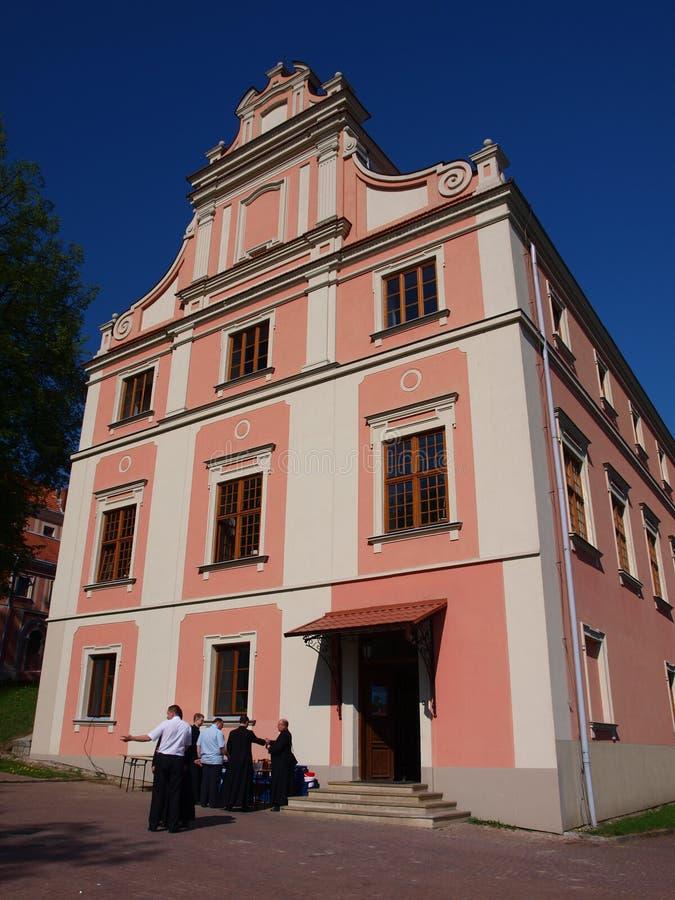 teologiskt poland sandomierzseminarium royaltyfri fotografi