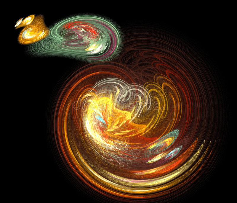 Teoria di Big Bang royalty illustrazione gratis